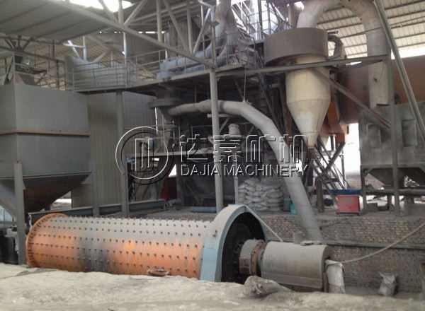 1.5x5700 Ball Mill Grinding Plant