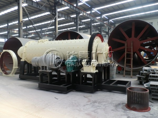 integrated ball mill