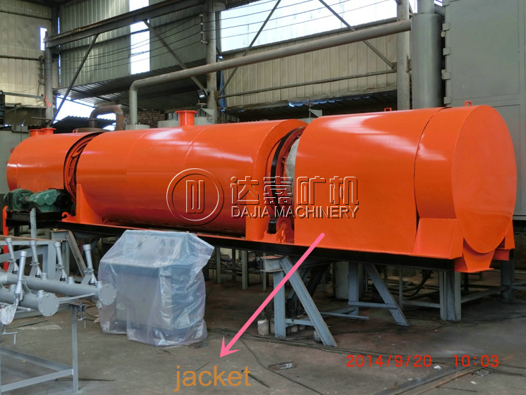 Jacket Rotary Dryer/Cylinder
