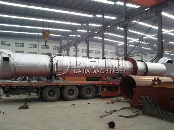 SS316L Stainless Steel Rotary Dryer