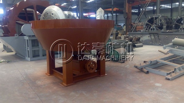 Three Wheel Pan Mill