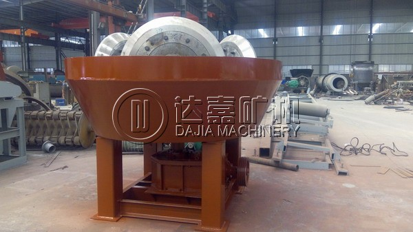 gold ore pan mill grinding machine