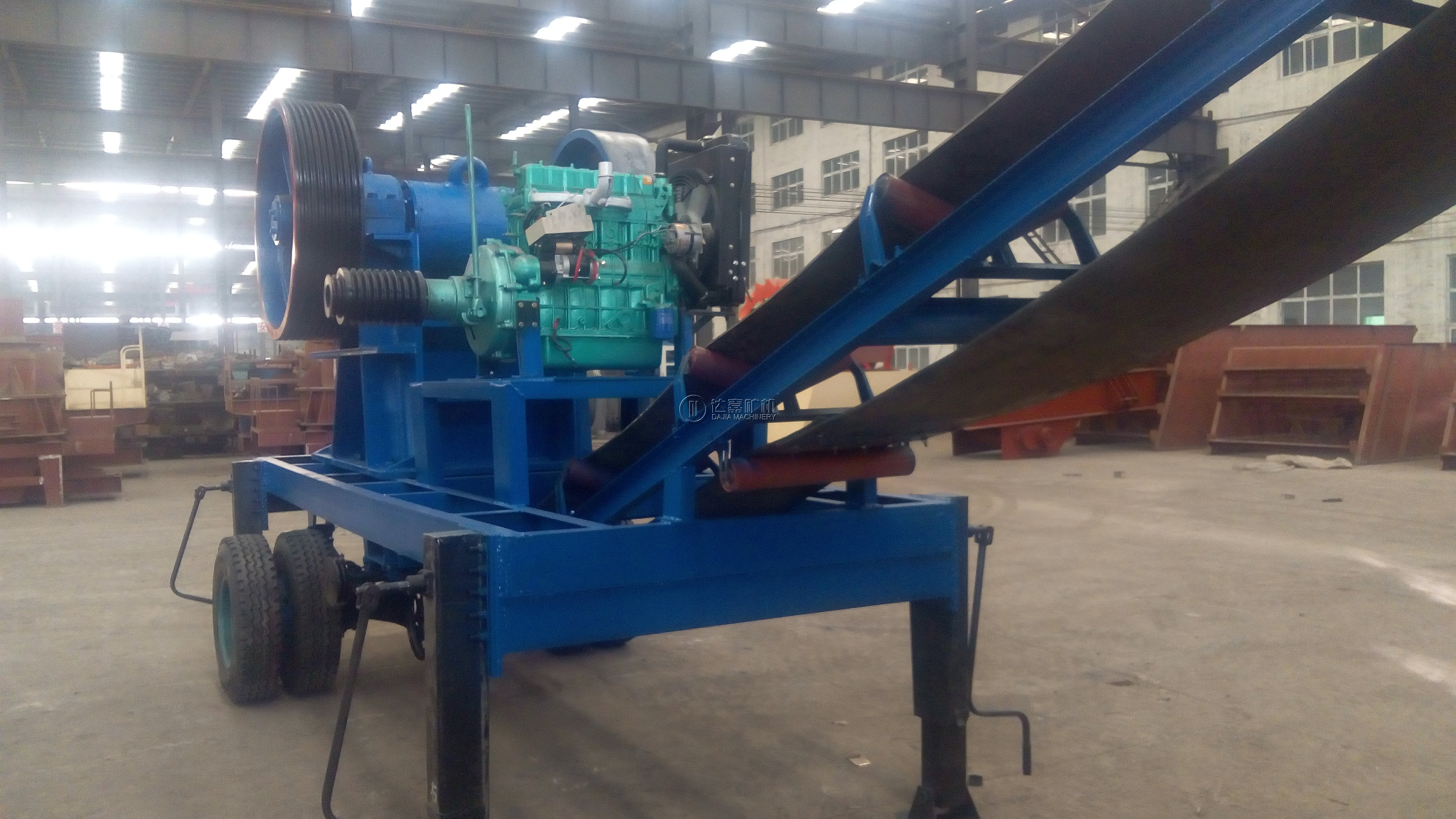 Diesel Mobile Jaw Crusher